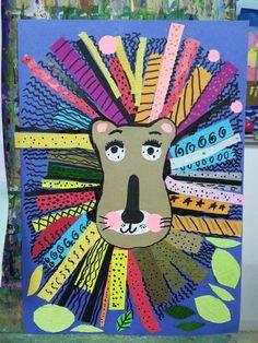 Art Lessons For Kids, Art Lessons Elementary, Art For Kids, Kindergarten Art, Preschool Art, Animal Art Projects, 2nd Grade Art, School Art Projects, Art Lesson Plans