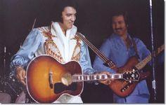 Elvis in 1976