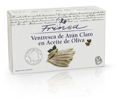Ventresca de Atún Claro en Aceite de Oliva FRINSA