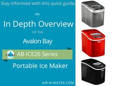 Resources by Air & Water - The Portable Appliance Experts Baking Gadgets, Ice Makers, Black Silver, Gain, Bullet, Knowledge, Water, Kitchen, Red