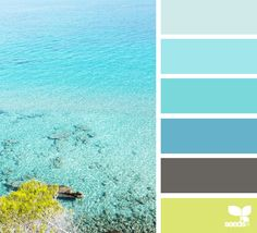 Design Seeds + Color Atlas by Archroma® Colour Pallette, Color Palate, Colour Schemes, Color Combos, Design Seeds, Beachy Colors, Sea Colour, Pantone, Pallet Painting