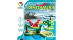 Dinosaurs Mystic Islands is an exciting shape matching game that challenges players to separate the plant-eating dinosaurs from the carnivores. Place the islands on the game board as shown, but keep the friendly dinosaurs from their T-Rex counterparts. Shape Matching, Matching Games, Fun Educational Games, Dinosaur Cards, Brain Teaser Puzzles, Deadshot, Brain Teasers, Creative Thinking, Puzzle Pieces