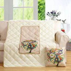 SHARE & Get it FREE | Colorful Tree Two Uses Cushion Pillow Noon Break QuiltFor Fashion Lovers only:80,000+ Items·FREE SHIPPING Join Dresslily: Get YOUR $50 NOW!
