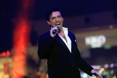 Carlos Marin of Il Divo during the Grand Opening of The Mall of Qatar at Mall of Qatar on April 8, 2017 in Doha, Qatar.
