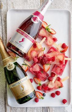 Champagne Popsicles - Bakers Royale