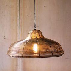 Pyrite Wire Pendant Lamp | dotandbo.com