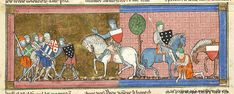 Lancelot du Lac, MS M.805 fol. 86r - Images from Medieval and Renaissance Manuscripts - The Morgan Library & Museum