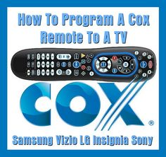 How To Program A Cox Remote To A TV