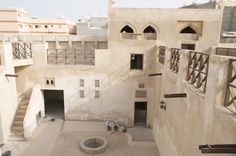 old and new houses in Bahrain