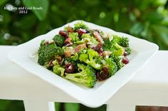 Crunchy Broccoli and Bacon Salad Recipe