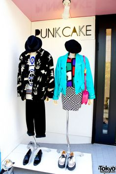 Punk Cake  - 1980s and 1990s Vintage Fashion Boutique in Harajuku