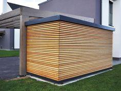 Backyard Sheds, Backyard Patio, Backyard Landscaping, Carport Designs, Pergola Designs, Bike Storage Front Garden, New Patio Ideas, Garden Cabins, Greenhouse Shed