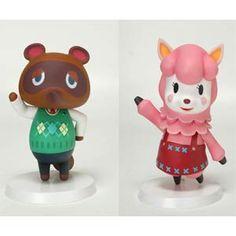 Animal Crossing Sofubi Series: Tanukichi (Tom Nook) & Lisa (Reese) Set **Preorder**