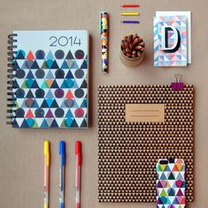 The triangle. A symbol of wisdom & mystery... looks pretty cool on stationery too!