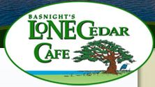 Basnight's Lone Cedar Cafe, Outer Banks, NC  Everything grown and caught fresh. The BEST She Crab Soup in the world.  www.lonecedarcafe.com