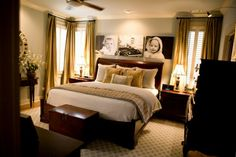 Master Bedroom, love the kids' pics