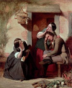 Egg, Augustus Leopold (b,1816)- Teasing Riddle -2a