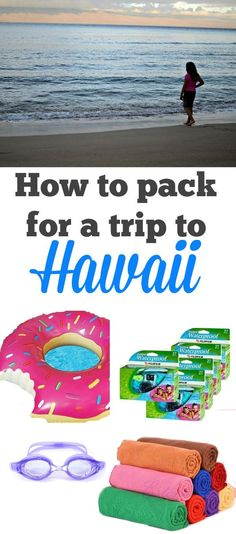 How to pack for a trip to Hawaii - save money by bringing these essentials with you!