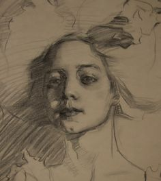 Drawing & Painting Journal : Works on Paper by Theresa Oaxaca. Her style reminds me of Sargent, a rare thing.