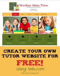 math tutor flyer examples
