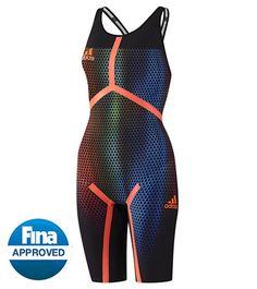 Adidas Women's Adizero XVI Freestyle Open Back Tech Suit at SwimOutlet.com – The Web's most popular swim shop