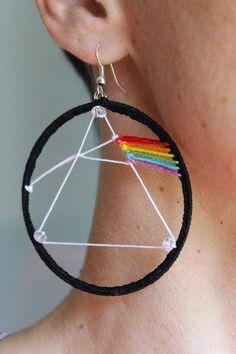Excellent Earrings Mike Hurley Pink Floyd
