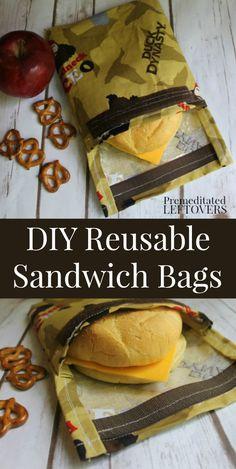 DIY Reusable Sandwich Bag