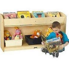 Jonti-Craft Book Browser Flushback Bookcase