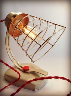 Retro Vintage Desk Lamp Mid Century Modern by ModernArtifactDecor