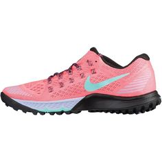 8a23619e709d Nike Zoom Terra Kiger 3 - Women s - Running - Shoes - Lava Glow Hyper...  ( 125) ❤ liked on Polyvore featuring shoes