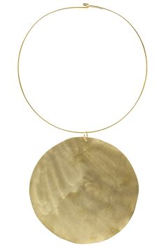 """Simple yet powerful, this necklace harnesses the power of the sun and radiates positive energy. Brighten up any outfit with this beautiful piece. Dimensions: Pendant measures 4.25"""" in diameter, total"""