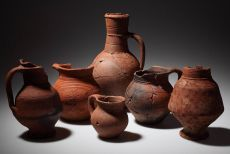 Selcuk, 14th Century. Medieval pottery from the Odeion