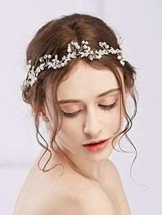Hair Accessories   Missgace Bridal Crystal Vintage Headband Wedding Rhinestones Headband Women Beach Wedding Hair Accessories * Want additional info? Click on the image.-It is an affiliate link to Amazon. #HairAccessories