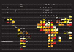 Urban Infographics by Catarina Antunes, via Behance
