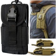 9a3e29a0f7fb Description New Outdoor Camping Hunting Bags Tactical Molle Cell Phone  Smartphone Waist Pouch Survival Tools High