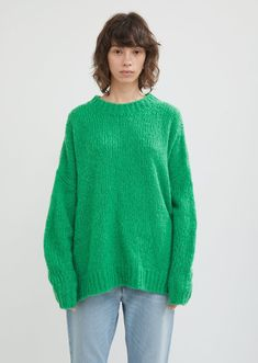 Sayers Fluffy Sweater by Isabel Marant Étoile- La Garçonne Cell Model, Fluffy Sweater, Pullover, Crewneck Sweater, Crew Neck, Wool, Collection, Sweaters, How To Wear