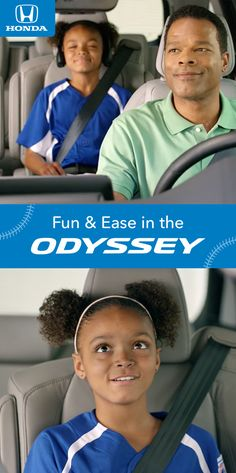 The Odyssey's modern features like the available CabinTalk™ make it a minivan home run for Little League® families. Honda Odyssey, Minivan, Family Adventure, Families, Parenting, Running, Cars, Modern, Fun