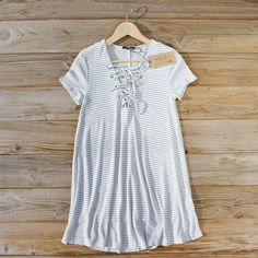 The Lace-up Dress... perfect for spring!