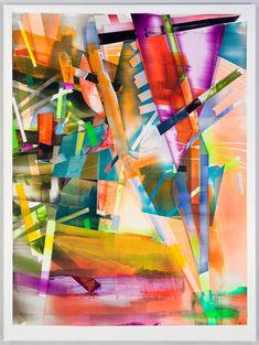 http://www.boumbang.com/giuseppe-gonella/ Kristin Baker, Fall, 2011, acrylic on PVC, 203 x 152 cm © Kristin Baker