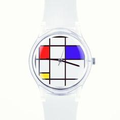 Created by me on May28th emoji️emoji Mondrian inspiration emoji @MAY28TH #watch #mondrian #art via @ram_262