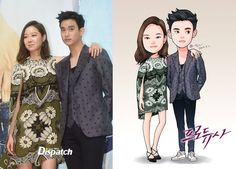 The 5 cutest works of fan art featuring Producer's Kim Soo Hyun, Gong Hyo Jin, IU, and Cha Tae Hyun