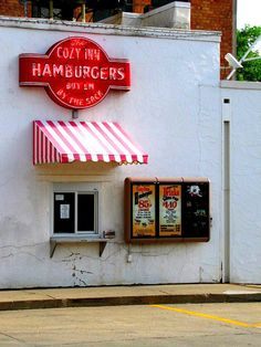 The cozy Inn in Salina, Kansas  LOVE Cozy in hamburgers.. oh the Memories I have of this place..