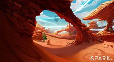 The Project Spark art team really wanted to make sure we shared our desert concept artwork with everyone. Enjoy! #projectspark (http://joinprojectspark.com)