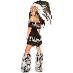 Indian Princess Costume Adult Womens Native American Girl Halloween Fancy Dress | eBay