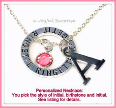 Personalized Ringette Necklace, Ringette Jewellry, Gift for Ringette Player Charm Silver Ringette Circle Charm  A personal favorite from my Etsy shop https://www.etsy.com/ca/listing/265472375/personalized-ringette-necklace-ringette