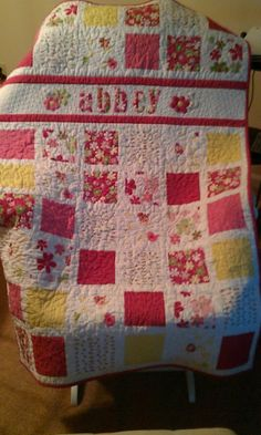 Abbey's quilt - pattern from Moda Bake Shop! Could be next grand kids quilt