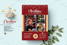 Christmas Mini Session V1390 by Template Shop on @creativemarket