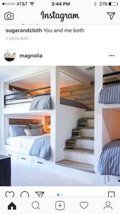 Beds in guest room