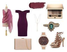 """Megara"" by idkjustmeow on Polyvore featuring moda, Aloura London, NOVICA, Olivia Burton, Lana y Clarins"