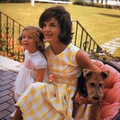 Jackie with Caroline Kennedy